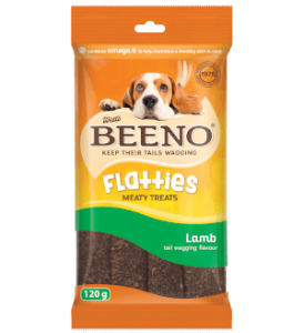 Beeno Flatties Lamb 120g