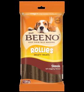 Beeno Rollies Steak 120g
