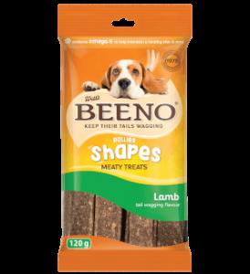 Beeno Shapes Lamb 120g